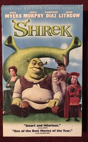 Shrek (VHS) for Sale in New Haven, CT