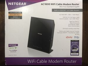 Netgear AC1600 WiFi Router for Sale in Troutdale, OR