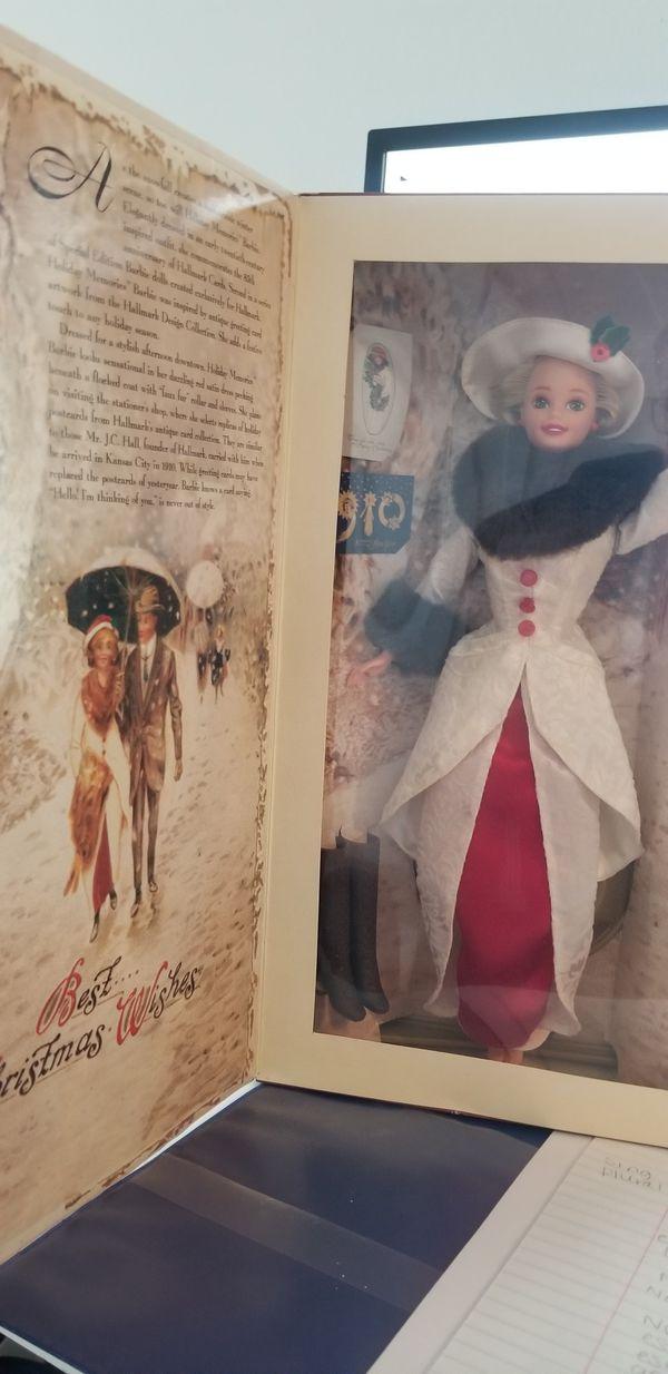 Vintage 1995 Holiday Memories Hallmark Special Edition Barbie