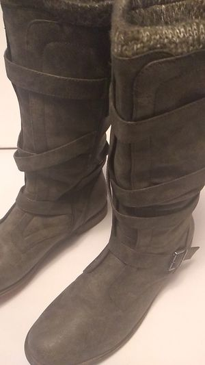 Justfab sweater cuff boots for Sale in Bonney Lake, WA
