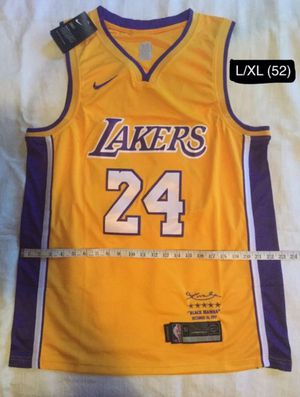 LA Lakers Jersey Kobe Bryant Brand New SIZES L/XL (52) WEDNESDAY PRICE ONLY for Sale in Beverly Hills, CA