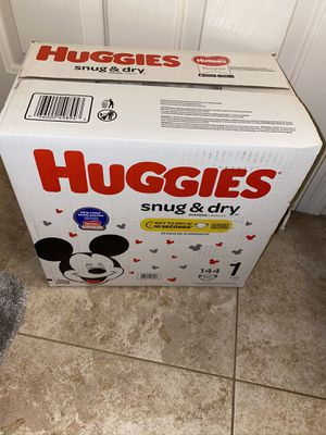 Huggies size 1 for Sale in Tempe, AZ