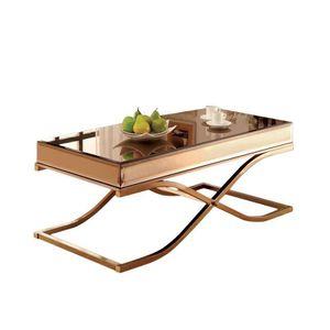 Metal Coffee Table in Brass for Sale in El Cajon, CA
