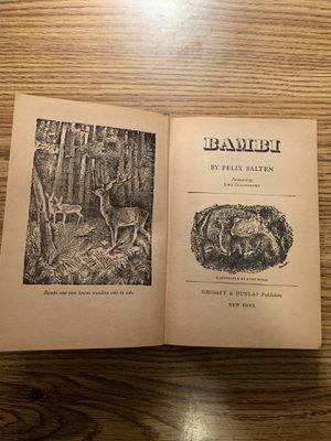 Original Bambi book 1929 for Sale in Palos Hills, IL