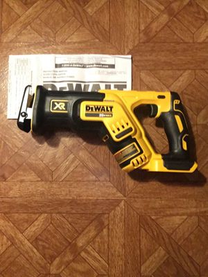 DEWALT. 20V MAX XR Lithium-Ion Cordless Brushless Compact Reciprocating Saw (Tool-Only). DCS367B for Sale in Brooklyn, NY