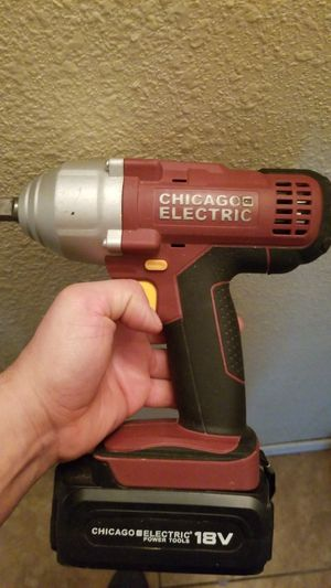Chicago electric impact wrench for Sale in Phoenix, AZ