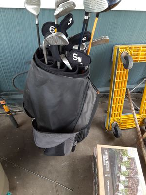 Golf clubs and cooler bag for Sale in West Mifflin, PA