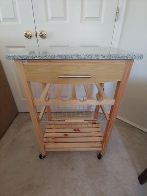 Linon Kitchen Island Granite Top for Sale in North Bend, WA