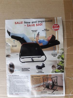Gravity chair for Sale in Orlando, FL
