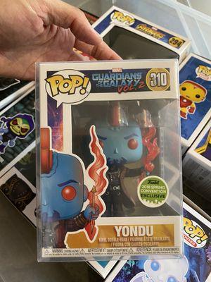 Super rare Funko POP Yondu in protective case (#310) for Sale in Seattle, WA