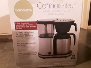Bonavita Connoisseur Stainless Steel 8 Cup Coffee Brewer for Sale in Seattle, WA