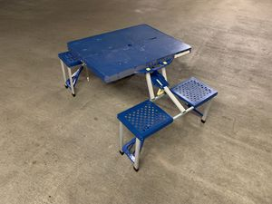 Portable picnic table for Sale in Charlotte, NC