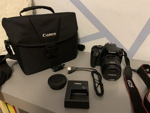 Canon EOS Rebel T6 camera set for Sale in St. Louis, MO