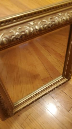 Small Gold Wall Mirror for Sale in Dearborn, MI