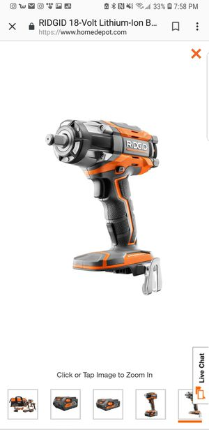 New (never used) RIDGID 18-Volt LITHIUM ION BRUSHLESS IMPACT WRENCH FOR SALE for Sale in Poway, CA
