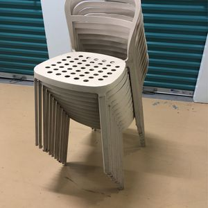 Vintage 90s Ikea Metal Outdoor Seating Chairs for Sale in Chicago, IL