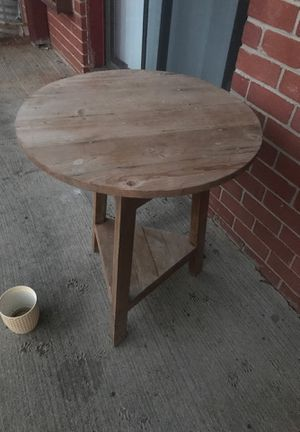 Wood outdoor table for Sale in East Brunswick, NJ