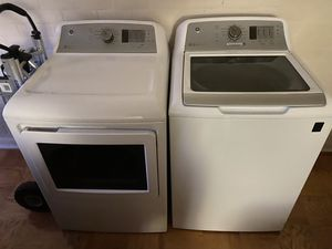 GE Washing and Dryer Set...Gently used for Sale in Gaithersburg, MD