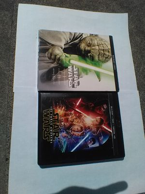 Star Wars prequel a blu ray plus force awakens for Sale in Portland, OR