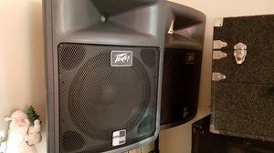 2 (15) SPEAKERS + PEAVEY MIXER AMPLIFIER for Sale in Chelsea, MA