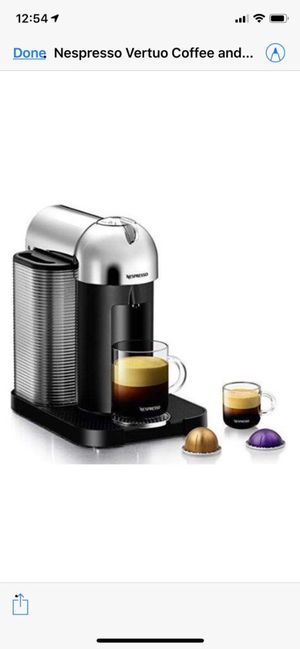 Nespresso Coffee Maker for Sale in Canonsburg, PA