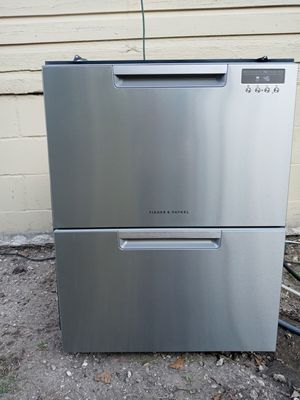 Fisher and Paykel stainless steel 2 drawer dishwasher. Works great and looks nice for Sale in Jacksonville, FL