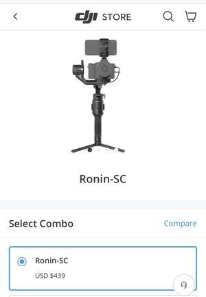 Dji Ronin SC gimbal for Sale in Richmond, CA