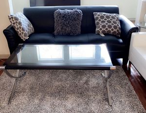 Leather couch and pillows only for Sale in San Antonio, TX