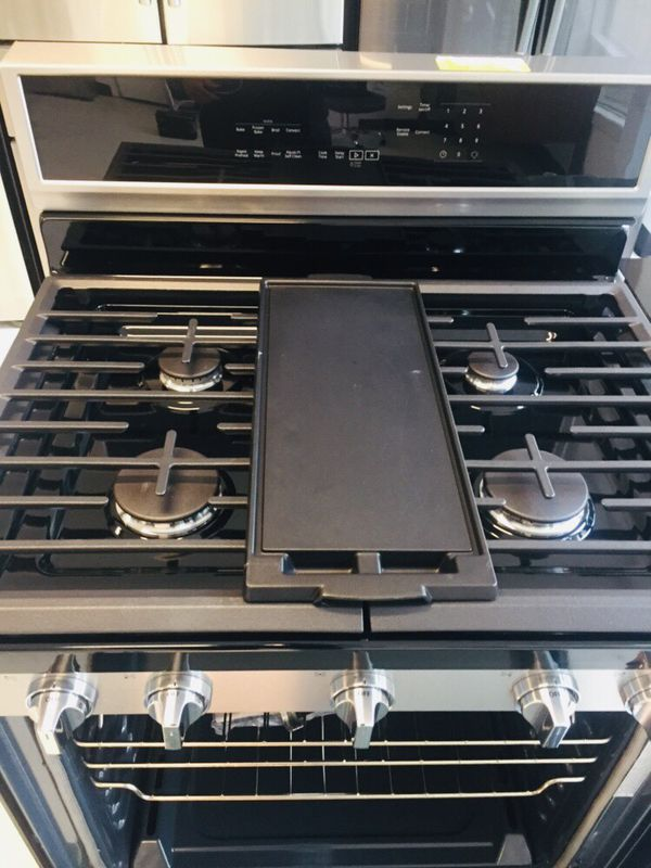 🔥🔥New stainless steel Whirlpool gas stove 6 months warranty 🔥🔥