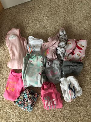 NB & 0-3 baby girl clothes for Sale in Gaithersburg, MD