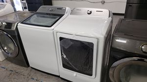 Samsung Washer AND Gas Dryer Combo Set, Free Delivery AND Warranty for Sale in Anaheim, CA