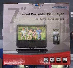 """7"""" Widescreen Swivel Portable DVD Player for Sale in Rialto, CA"""
