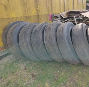 Semi truck tires for the trailer for Sale in Portland, OR