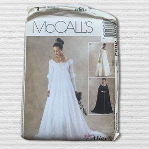 McCalls 3053 Bridal Gown Renaissance Medieval Bridesmaid Empire Waist 8-12 Uncut for Sale in Beaverton, OR