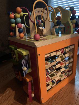 Wooden kids toy block for Sale in Murfreesboro, TN