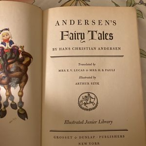 Anderson's Fairy Tales Original Hard Cover-no Jackets for Sale in Oakland, CA