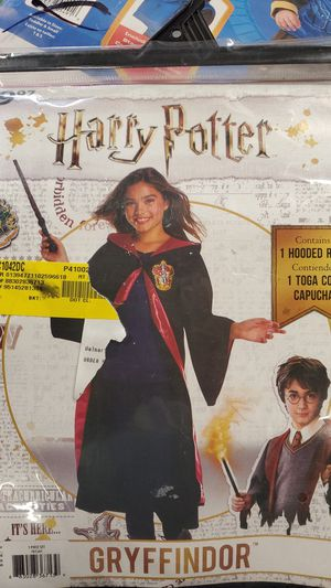 Girls Gryffindor Harry Potter costume size medium for Sale in Riverside, CA