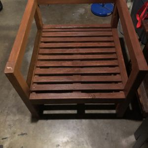 Rustic Wood Chair for Sale in Chula Vista, CA
