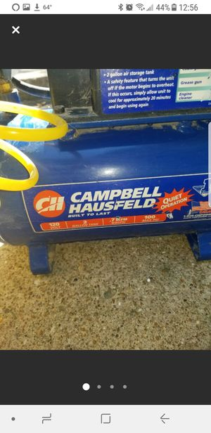 Campbell and Hausfeld air compressor for Sale in Eldon, MO