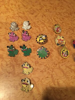 Disney pins! for Sale in Watchung, NJ