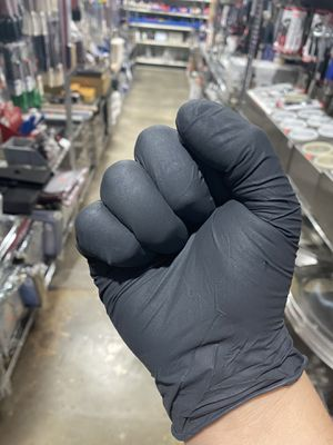 Black Nitrile Disposable Gloves 100 Pack for Sale in Colton, CA