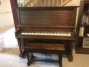 Hallet and Davis Upright Piano for Sale in Saint Paul, MN