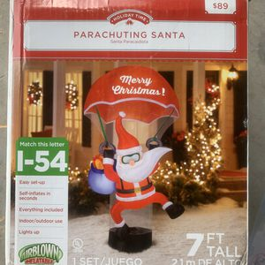 Christmas Inflatable Santa Claus Outdoor Decoration for Sale in Davenport, FL