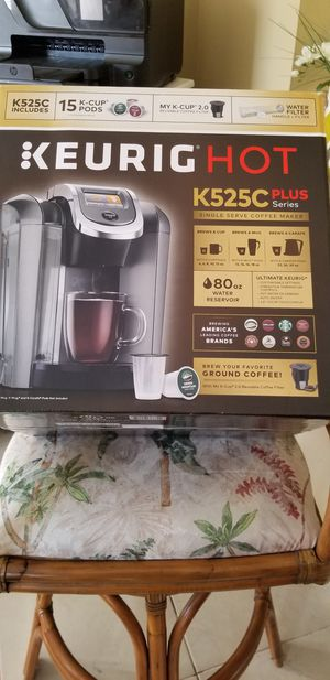 Keurig Hot 2.0 K525 Plus Series Coffee Maker for Sale in Naples, FL