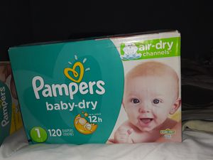 Pampers size 1 for Sale in Fort Worth, TX