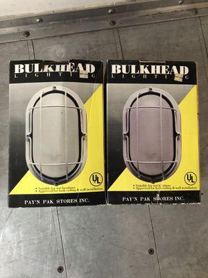 TWO VINTAGE BULKHEAD LIGHTS for Sale in Renton, WA