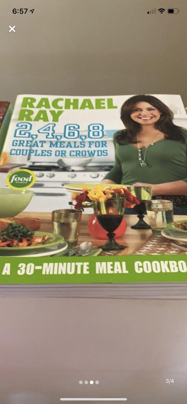 Rachel Ray recipe books