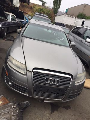 PARTING OUT - 2006 AUDI A6 Silver/Gray #121918 for Sale in Portland, OR