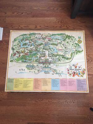 Disney Map for Sale in Canton, MI