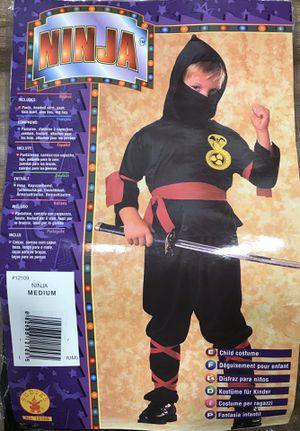 NINJA Child Costume in Medium for Sale in Temple City, CA